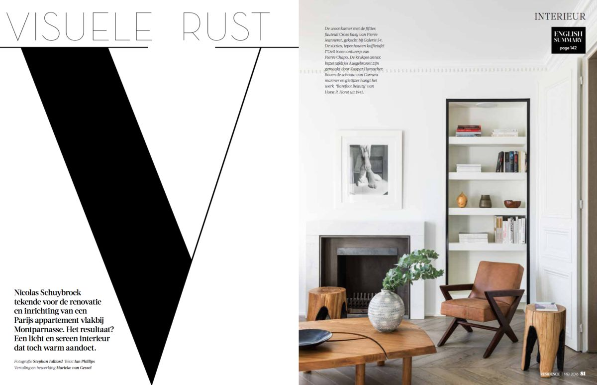 Fauteuil Design Huis En Inrichting.Nicolas Schuybroek Press